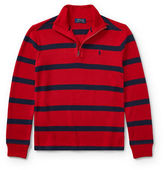 Ralph Lauren Childrenswear Striped French-Rib Pullover