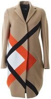 MSGM Camel Wool Coat