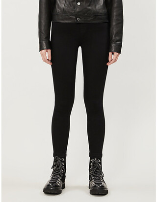 J Brand Dellah skinny high-rise jeans