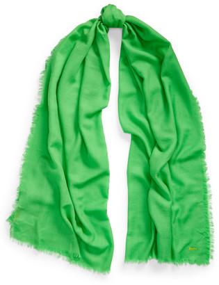 Ralph Lauren Fringe Wool-Blend Scarf
