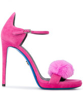 Loriblu fur sandals