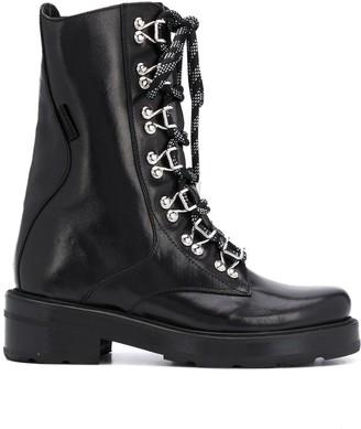 Olivier Theyskens Sombat combat boots