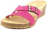 Easy Street Shoes Sandalo Women Open Toe Leather Slides Sandal.