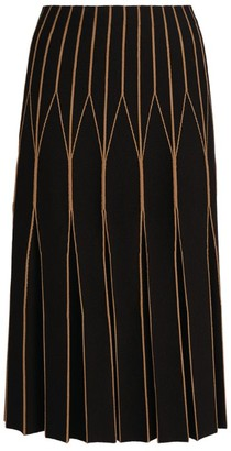 D-Exterior D.Exterior Patterned A-Line Skirt