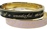 Disney Couture - Women's Wonderful Thoughts Bracelet ** 2 Colors **