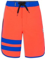Hurley Boys' Print Reveal Block Party Board Shorts - Big Kid