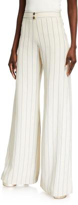 Alexis Dixon Striped Wide-Leg Pants