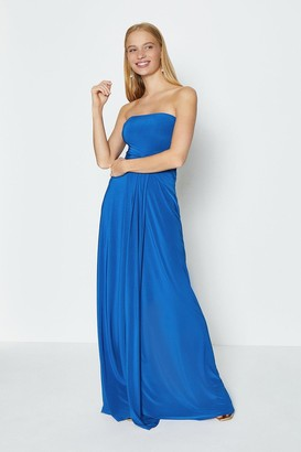 Coast Plain Bandeau Jersey Maxi Dress