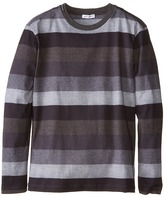 Dolce & Gabbana Printed Stripe Long Sleeve T-Shirt (Big Kids)
