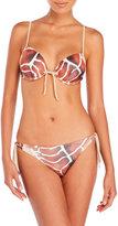 La Perla Printed Push-Up Bikini