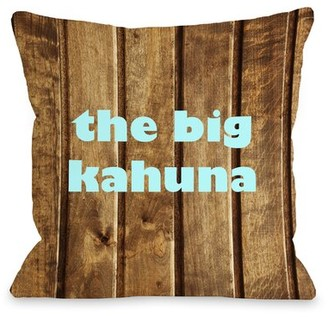 Kahuna One Bella Casa The Big Throw Pillow One Bella Casa