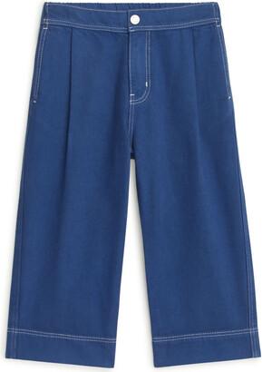 Arket Wide Cotton Lyocell Trousers