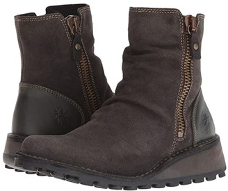 Fly London Mong944Fly (Diesel Oil Suede/Rug) Women's Boots