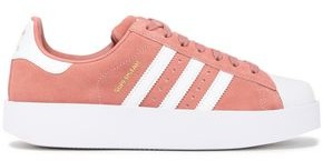adidas Superstar Bold Rubber And Suede Sneakers