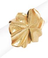 Josie Natori Metal Floral Cuff