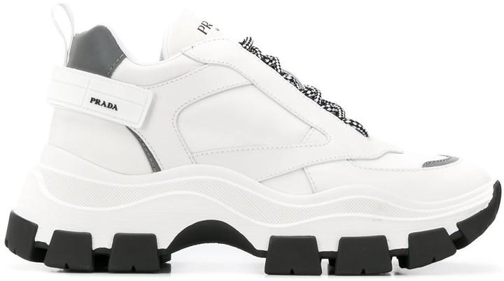 Prada Pegasus chunky sole trainers