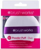 Brushworks brushworks Powder Puff Duo