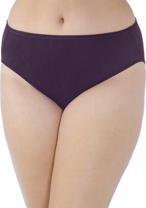 Vanity Fair Women's Illumination Hi Cut Plus Size Panty 13810