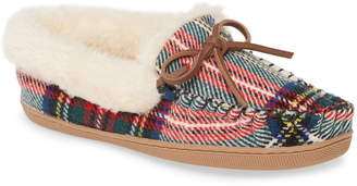 J.Crew Lodge Faux Shearling Lined Moccasin