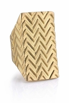 House Of Harlow Textured Wrap Ring in Gold