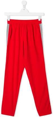 Tommy Hilfiger Junior side stripe track pants
