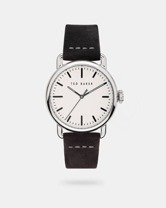 Ted Baker TOMCOO Suede strap watch