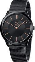 Calvin Klein K3M21421 Minimal PVD-plated steel watch