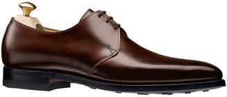 Crockett Jones Crockett & Jones Highbury Plain Toe Shoe in Brown Calf
