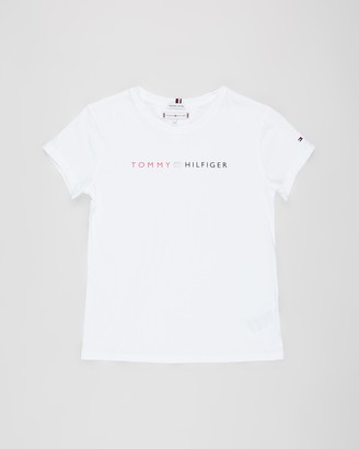 Tommy Hilfiger Essential Roll Up Short Sleeve Tee - Teens
