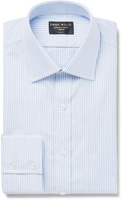 Emma Willis Slim-Fit Pinstriped Cotton Oxford Shirt