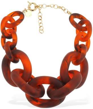 Vanda Jacintho RESIN CHAIN STATEMENT CHOKER