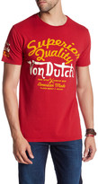 Von Dutch Superior Quality Logo Print T-Shirt