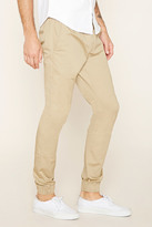Forever 21 Drawstring Woven Joggers