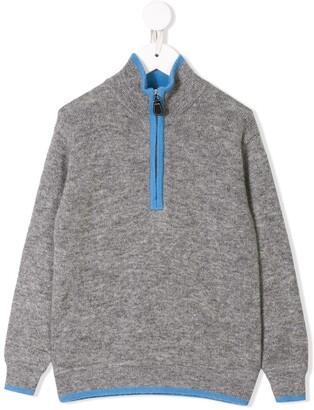 Cashmirino Cashmere zipped jumper