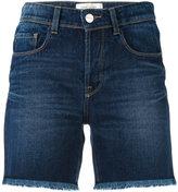Each X Other denim frayed shorts - women - Cotton - 24