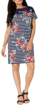 Karen Scott Petite Liberty Garden Printed Dress
