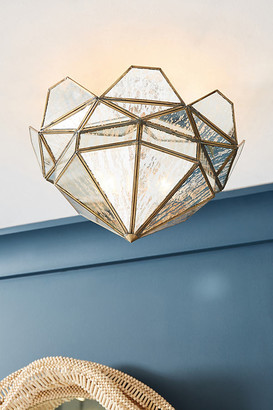 Anthropologie Marquise Lantern Flush Mount By in Brown Size M