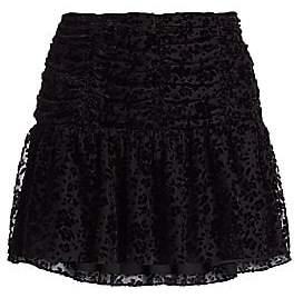 Parker Women's Nova Floral Burnout Mini Skirt