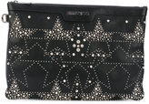 Jimmy Choo studded star detail clutch - men - Leather/metal - One Size