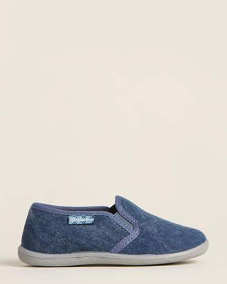 Naturino Toddler/Kids Boys) Denim Slip-On Sneakers