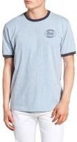 Brixton Men's Merced Ringer Logo T-Shirt