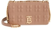 Burberry Small Lola Quilted Check Lambskin Bag