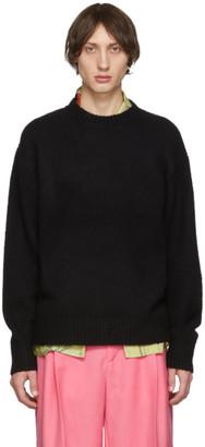 Acne Studios Black Wool Cashmere Sweater