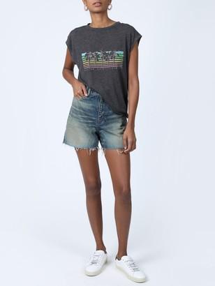 Saint Laurent Malibu Palm Tree T-shirt