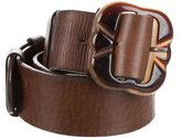 Marni Leather Buckle Waist Belt