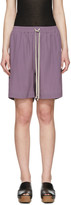 Rick Owens Purple Boxer Shorts