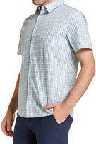 Sportscraft Short Sleeve Tapered Myrtle Shirt