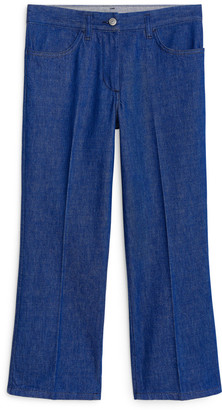 Arket Cropped Denim Trousers