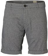 Selected Homme Paris Linen Blend Shorts