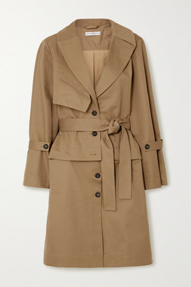 Palmer Harding Cebus Convertible Cotton-drill Trench Coat - Tan